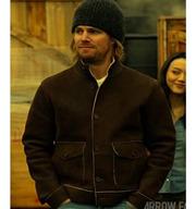 Arrow Oliver Queen Suede Leather Jacket