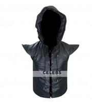 Robin Des Bois Ne Renoncez Jamais Hoodie Leather Vest