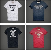 2012 A&F men's T-shirt,  short sleeve
