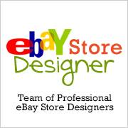 Custom eBay Store Designs with custom navigation features
