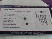 Emerald Certified Gemstone .40cts
