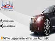 Get your luggage transferred from Luton airport in £43
