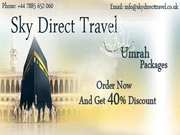 Negotiable Prices for Best Umrah and Hajj Package in UK