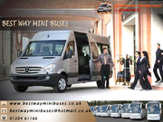 Luxury Minibuses for corporate business meetings and conferenc