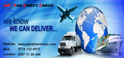 We provides all kind of cargo services,