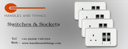 Electrical switches and sockets are available at discounted rates.