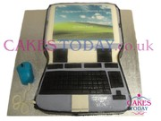 Windows Laptop Cake