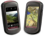 GARMIN OREGON 550t Handheld GPS Navigator / Hiking BUNDLE
