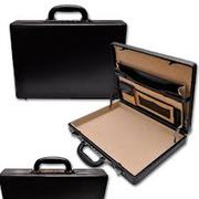 Slim Leather/PVC Attache Cases