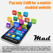 Pay only £499 for a mobile website