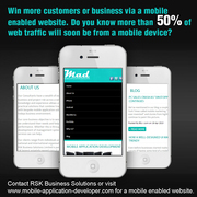 Win more customers or business via a mobile enabled website