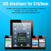iOS developer for $16/hour