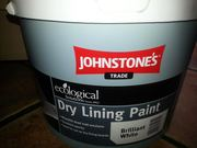 Johnstone`s Dry Lining Echological Paint