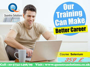Selenium in Class Training by Experienced Trainer on 26th and 27th Jul