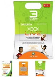 Xbox Live 3 Months Subscription US Microsoft Gold Card Code Emailed
