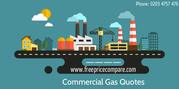 Commercial gas comparison