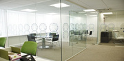 Frameless Glass Office Partitions London