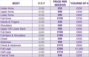 Affordable Laser and IPL Hair Removal Edgware