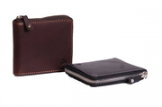 MENS LEATHER WALLETS A200 BLACK