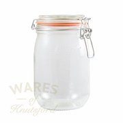 Le Parfait Orange Preserving Top Lid Storage Jar 1L