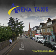 Find a taxi in St. Albans anytime,  anywhere with the arena taxi