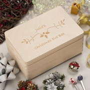 Christmas Eve Box:  Save Precious Memories with a Sturdy Wooden box